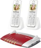 AVM FRITZ!BOX 7490 + 2x FRITZ!FON C4 WLAN router modemmel Beépített modem: ADSL, ADSL2+, VDSL 2.4 GHz, 5 GHz 1.75 Gbit/s AVM