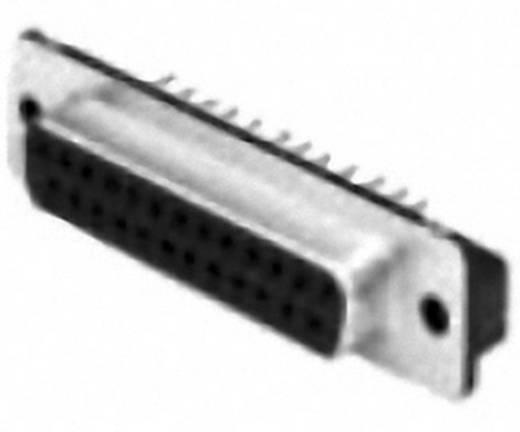 D-SUB hüvelyes kapocsléc 180 °, 25 pólusú, nyákos, TE Connectivity AMPLIMITE HD-20