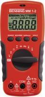Digitális multiméter, mérőműszer, érintés nélküli feszültségvizsgálattal 10A AC/DC Benning MM 1-2 Benning