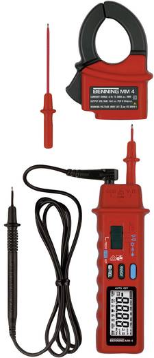 AC váltóáramú lakatfogó multiméter, kétpólusú mérőműszer 300A/AC Benning MM 4