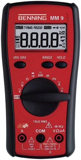 Digitális multiméter, True RMS mérőműszer 10A AC/DC Benning MM 9