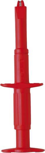 Szigetelt mérőkábel, mérőzsinór készlet mérőtűvel, mérőcsipesszel, 4mm-es banándugós 1m Benning TA 3 044126