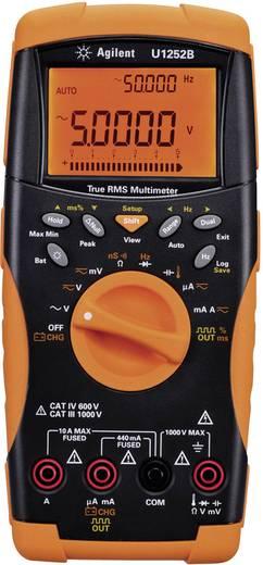 Digitális multiméter, True RMS, adattároló funkció, tölthető akkus 10A AC/DC 1000V AC/DC Keysight U1252B