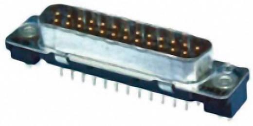 D-SUB tűs kapocsléc 180 °, pólusszám: 9, nyákos, TE Connectivity AMPLIMITE HD-20 1-5747871-4