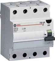 General Electric 604206 FI védőkapcsoló 4 pólusú 25 A 0.03 A 400 V (604206) General Electric