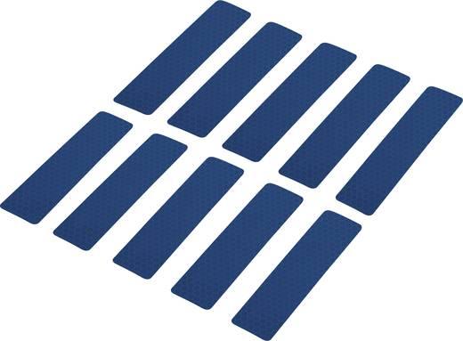 Ragasztócsík Conrad Components RTS Kék (H x Sz) 100 mm x 25 mm Tartalom: 10 db