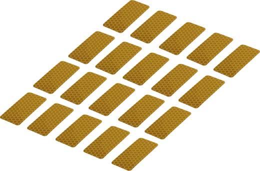 Ragasztócsík Conrad Components RTS Sárga (H x Sz) 50 mm x 25 mm Tartalom: 20 db