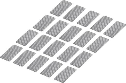 Ragasztócsík Tru Components RTS Ezüst (H x Sz) 50 mm x 25 mm Tartalom: 20 db