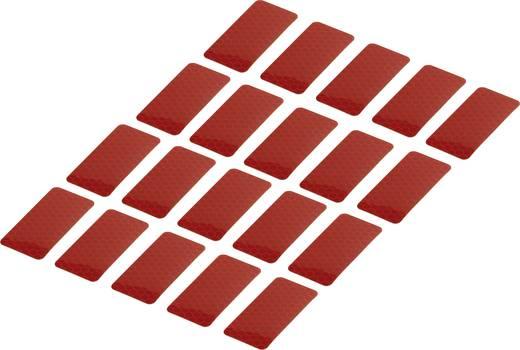 Ragasztócsík Conrad Components RTS Piros (H x Sz) 50 mm x 25 mm Tartalom: 20 db