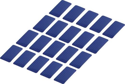 Ragasztócsík Conrad Components RTS Kék (H x Sz) 50 mm x 25 mm Tartalom: 20 db