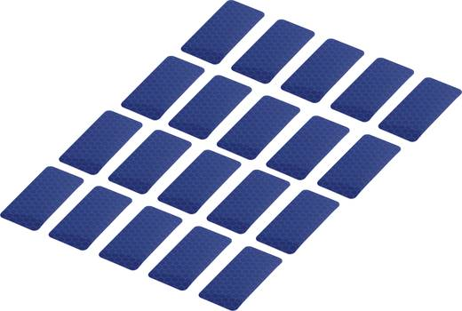 Ragasztócsík Tru Components RTS Kék (H x Sz) 50 mm x 25 mm Tartalom: 20 db