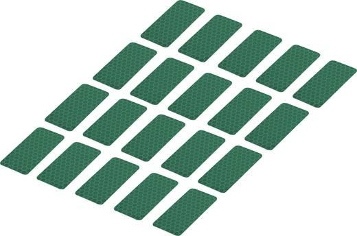 Ragasztócsík Tru Components RTS Zöld (H x Sz) 50 mm x 25 mm Tartalom: 20 db