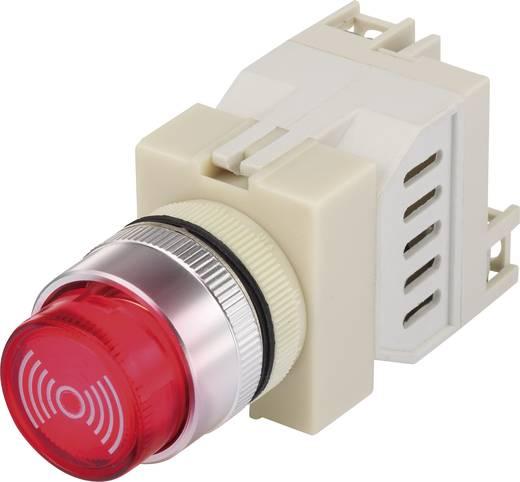 Beépíthető miniatűr zümmer, 75 dB 12 V/AC/DC fehér