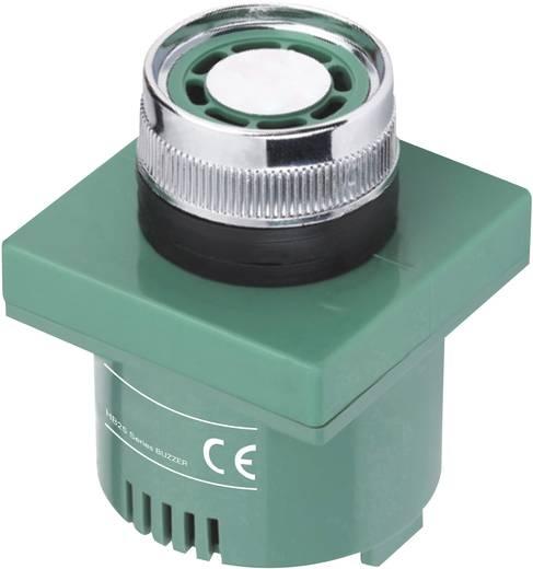 Beépíthető miniatűr zümmer, 75 dB 12 V/AC/DC zöld