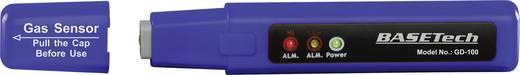 Gázdetektor, gázszivárgás kereső, ellenőrző teszter propán, bután, acetilén és metángázhoz Basetech GD-100