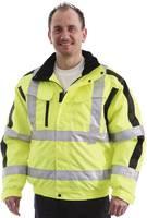 L+D ELDEE 4089 Jól látható kabát Méret=XL EN ISO 20471: 2013, 3. osztály; EN 343: 2003 + A1: 2007, 2/2 osztály L+D ELDEE