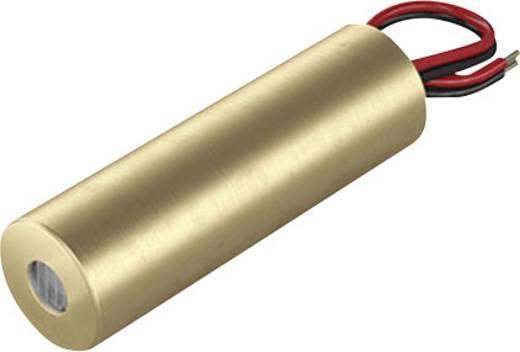 Pont lézermodul, piros, 1 mW Picotronic DB650-1-3-FA(14x45)