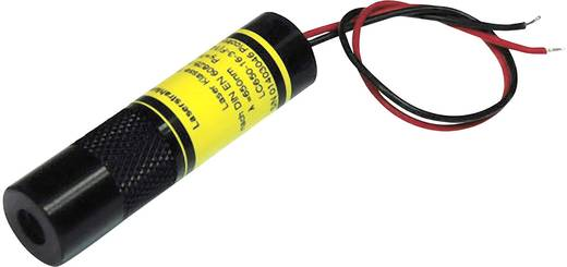 Vonal lézermodul, piros, 5 mW Picotronic LC650-5-24-F(14x55)