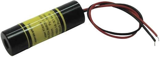 Pont lézermodul, piros, 1 mW Picotronic DB635-1-3-FA(14x45)
