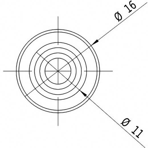 Pont lézermodul, zöld 1 mW Picotronic DD532-1-3(16x60)