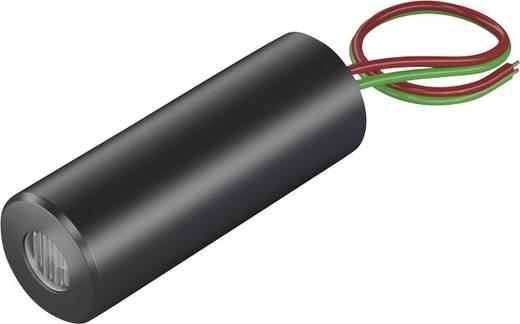 Vonal lézermodul, piros, 3 mW Picotronic LC635-3-4,5(12x32)