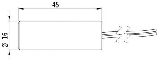 Lézermodul Keresztvonal, piros, 2 mW Picotronic CB635-2-24(16x45)10DEG-F1000