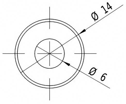 Vonal lézermodul, piros, 5 mW Picotronic LC635-5-3-F(14x45)