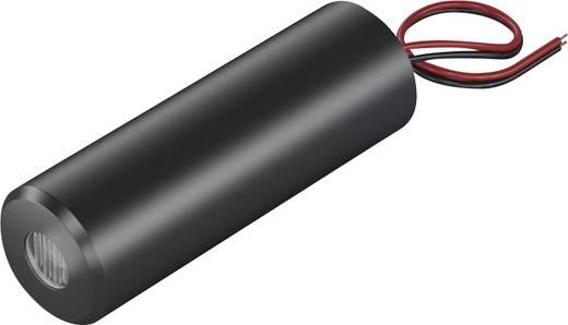 Lézermodul Keresztvonal, piros, 5 mW Picotronic CB635-5-3(16x45)45DEG