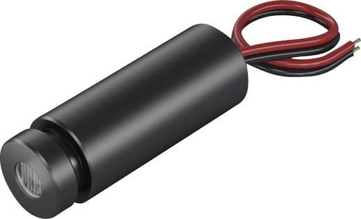 Pont lézermodul, piros, 1 mW Picotronic DG650-1-3(12x34)