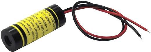 Vonal lézermodul, piros, 2.5 mW Picotronic LE635-2.5-3(12x32)