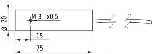 Vonal lézermodul, piros, 5 mW Picotronic LE650-5-3(20x75)30-C3000