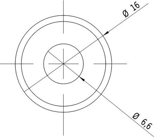 Lézermodul Keresztvonal, piros, 2 mW Picotronic CB635-2-3(16x45)-F1000