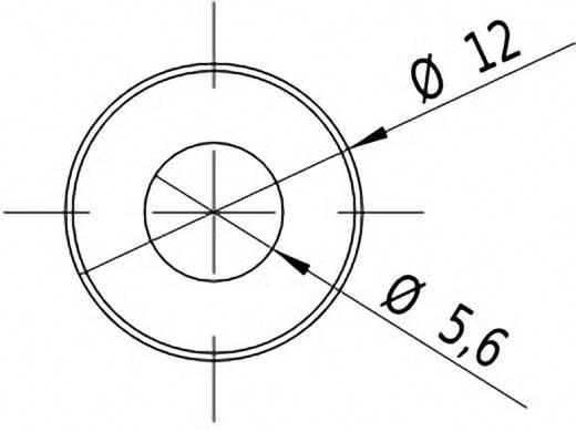 Vonal lézermodul, piros, 2.5 mW Picotronic LE650-2.5-5(12x32)