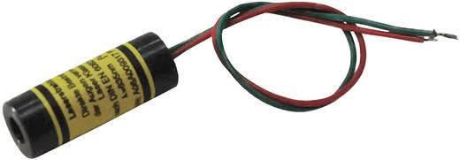Vonal lézermodul, piros, 5 mW Picotronic LD650-5-3(12x32)30