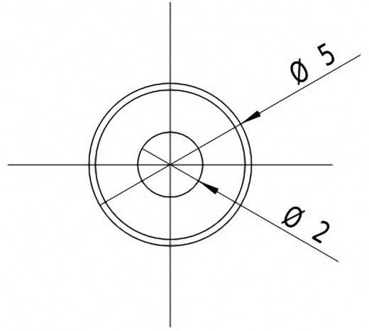Pont lézermodul, piros, 0.4 mW Picotronic DI650-0.4-3(5x12)
