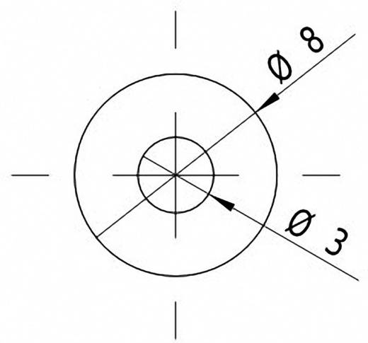 Vonal lézermodul, piros, 4 mW Picotronic LI650-4-5(8x26)45DEG-F40