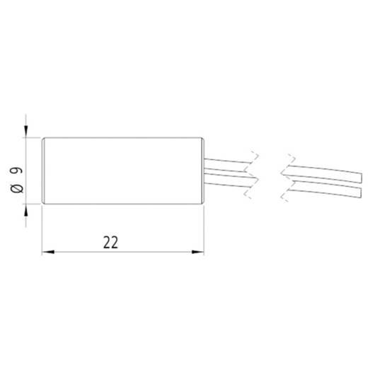 Vonal lézermodul, piros, 2.8 mW Picotronic LI650-2.8-5(9x22)-PL-C210