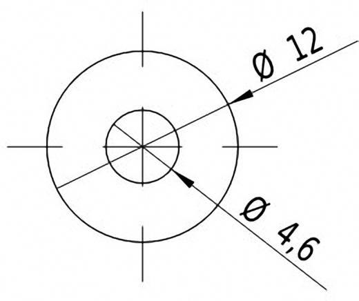 Pont lézermodul, piros, 1 mW Picotronic DD635-1-24(12x45)-WP