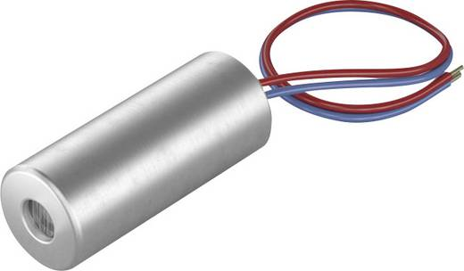 Pont lézermodul, piros, 1 mW Picotronic DI650-1-3(5x12)
