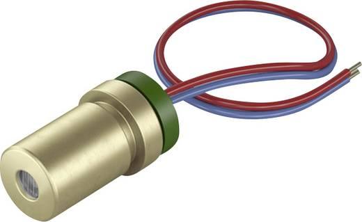 Pont lézermodul, piros, 1 mW Picotronic DG650-1-3(7x14)-ADJ