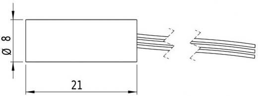 Pont lézermodul, piros, 1 mW Picotronic DI650-1-5(8x21)