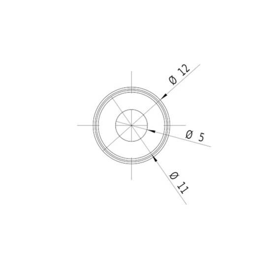 Pont lézermodul, piros, 0.4 mW Picotronic DD635-0.4-3(12x34)