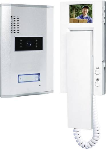 Vezetékes video kaputelefon rendszer, 1 családi házhoz, Smartwares VD61 SW1