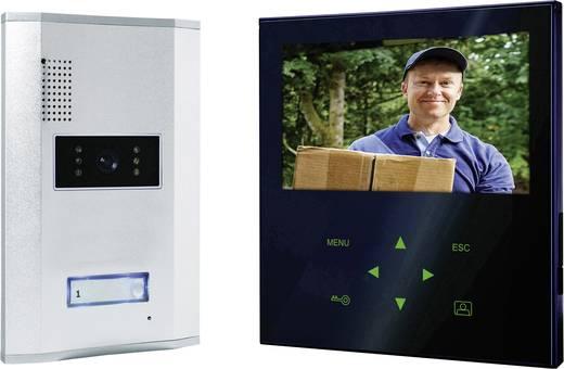 Vezetékes video kaputelefon rendszer, 1 családi házhoz, Smartwares VD71Z SW1