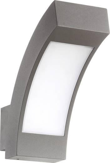 LED-es kültéri fali lámpa 4,5 W Hidegfehér renkforce Prebent 1284364 sötétszürke