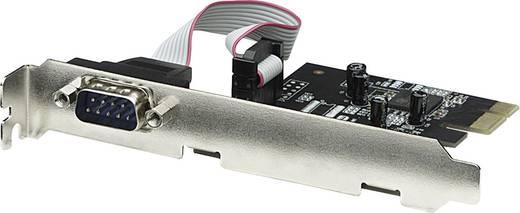 Soros portos 1 port csatlakozós PCIe plug-in kártya Manhattan 158152