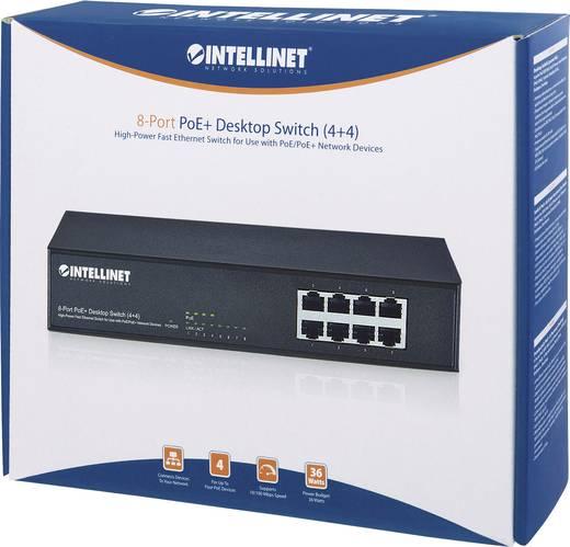 8 portos hálózati switch, RJ45 elosztó 100 MBit/s Intellinet 560757