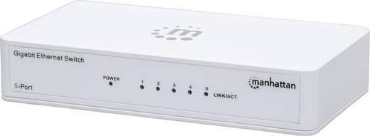 5 portos hálózati switch, RJ45 elosztó 1 GBit/s Manhattan 560696