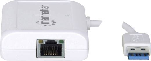 USB-s Gigabit Ethernet hálózati adapter 1000 Mbit/s LAN (10/100/1000 MBit/s) USB 3.0 Manhattan 506892