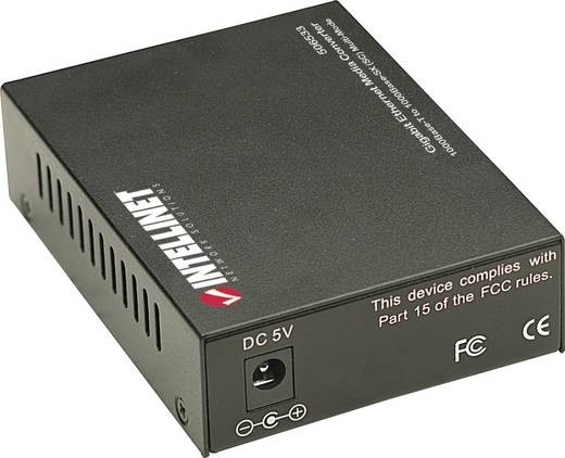 Gigabit Ethernet médiakonverter, Intellinet 1000 Mbit/s 506533